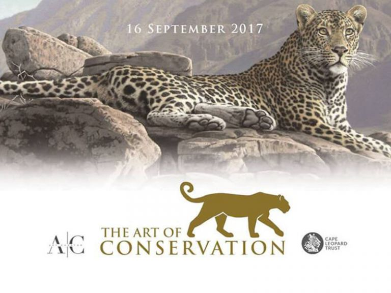 'Art of Conservation' exhibition and auction in support of leopards