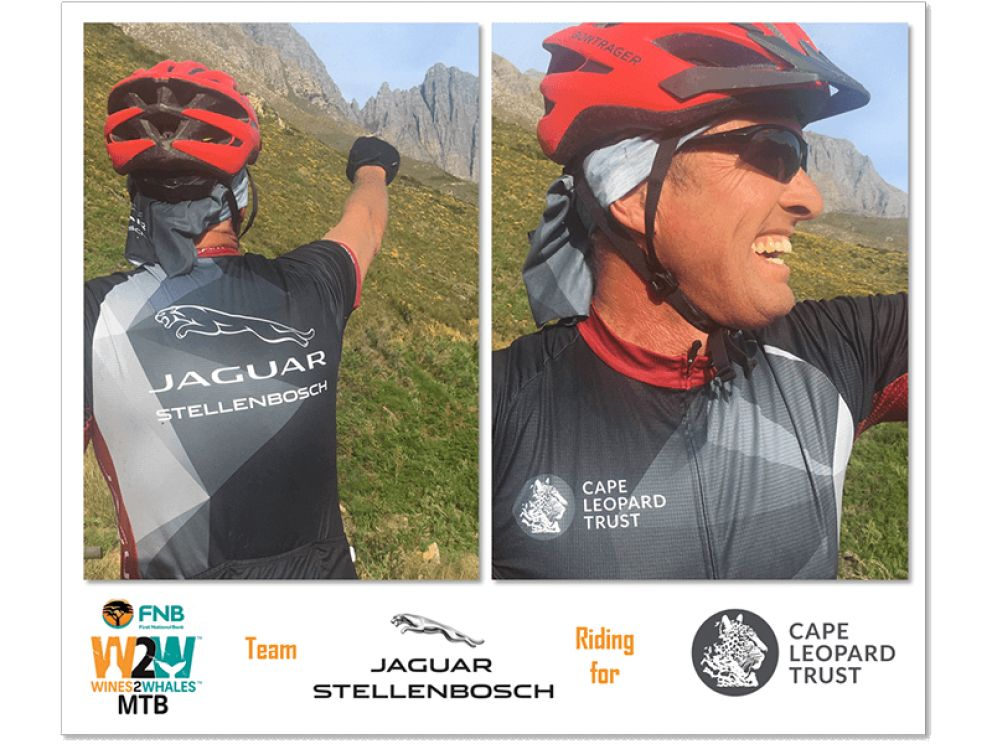 Raising awareness of leopards through the FNB Wines2Whales 2017 Race