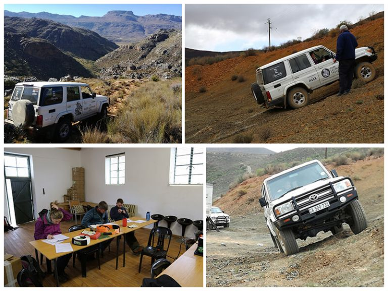 Cederberg Team Receives Specialist 4x4 training