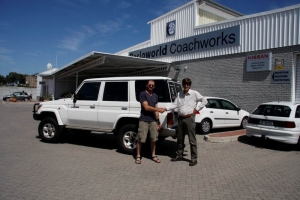 CLT Land Cruiser gets Barloworld makeover