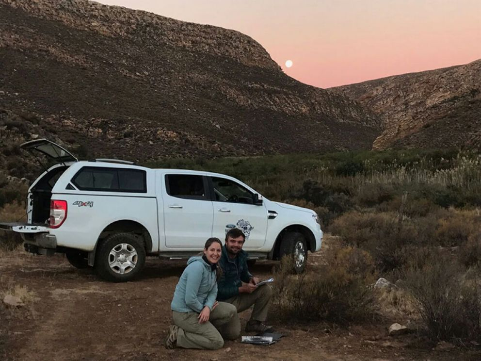 Cape Leopard Trust Ford Ranger Goes Wild