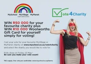 Vote4Charity – Win R50 000 for the Cape leopards
