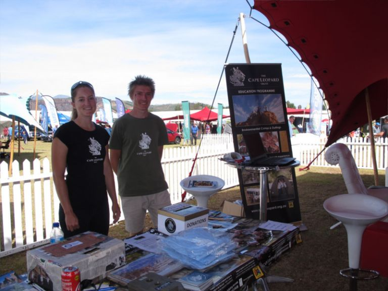 The Cape Leopard Trust at the Cape Getaway Show