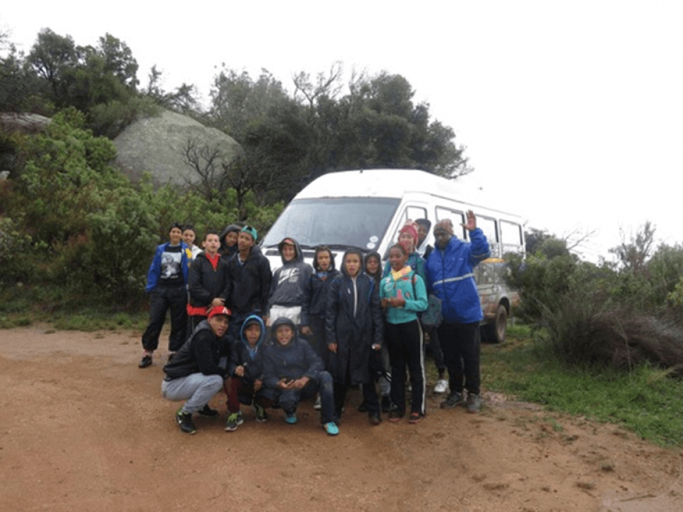 Bat Cave & Klipkershout trail, Paarl Rock, Cape Leopard Trust outing with Huis Andrew Murray