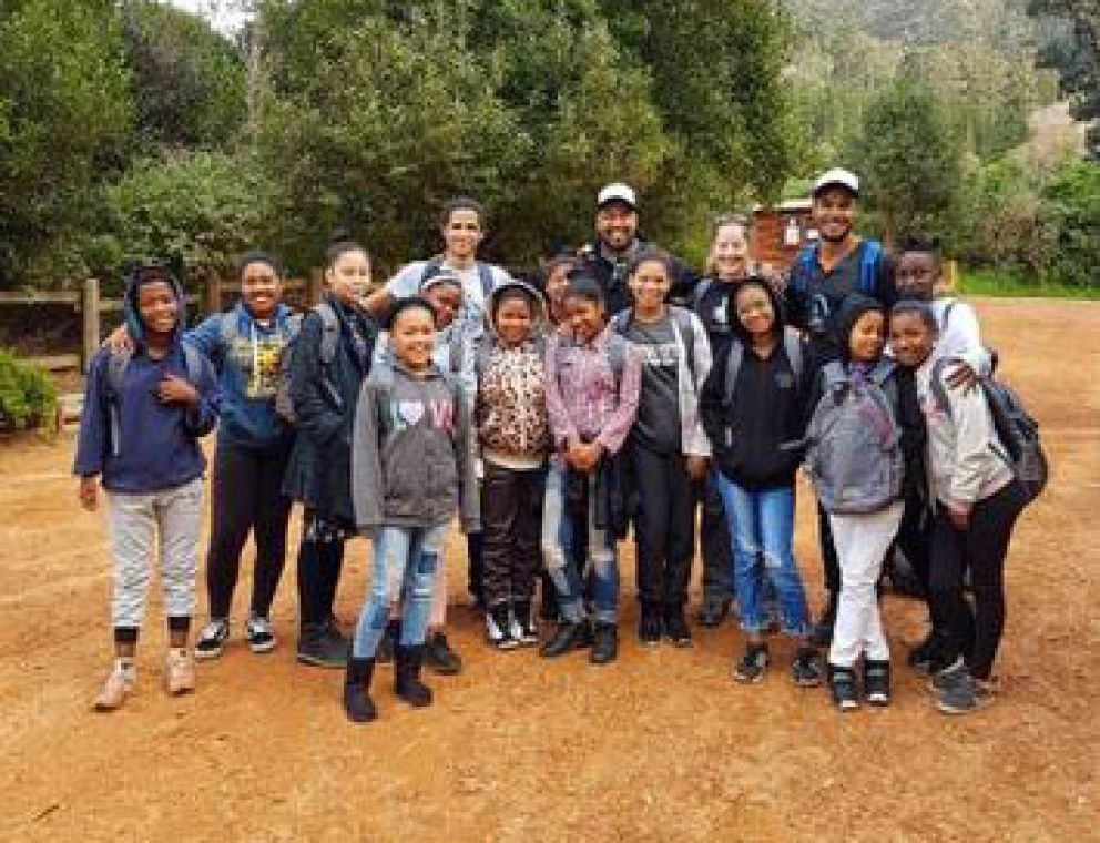 BRAVE ROCK GIRLS Outreach and Educational Experience - Hiking Cape Town South Africa